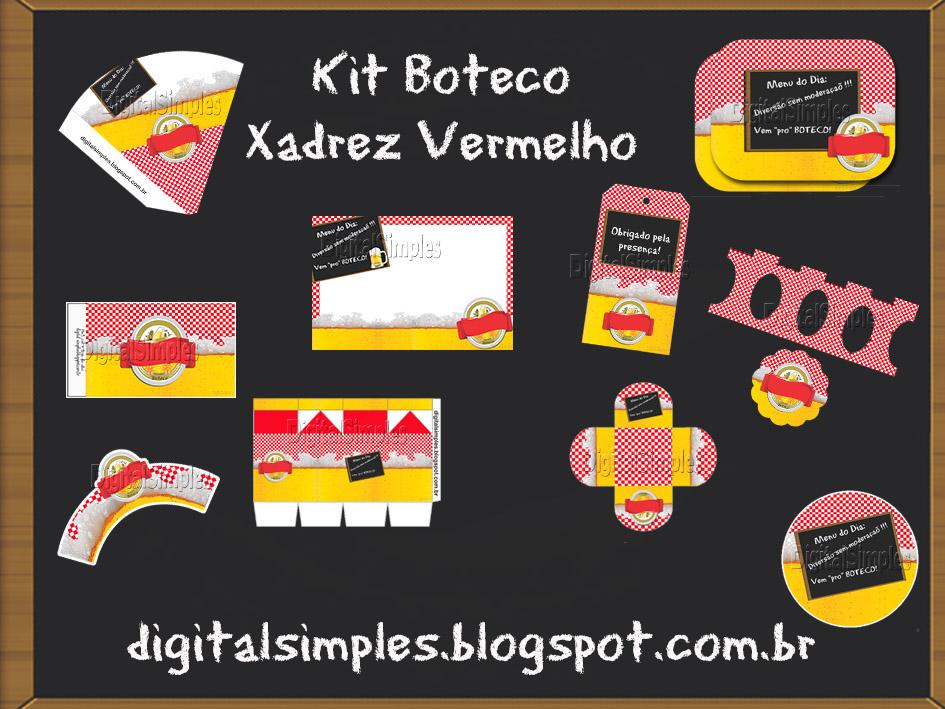 Kit Personalizado Boteco