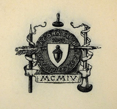 An early logo for the Acorn Club of Connecticut.