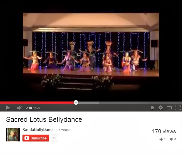 Sacred Lotus Bellydance Videos