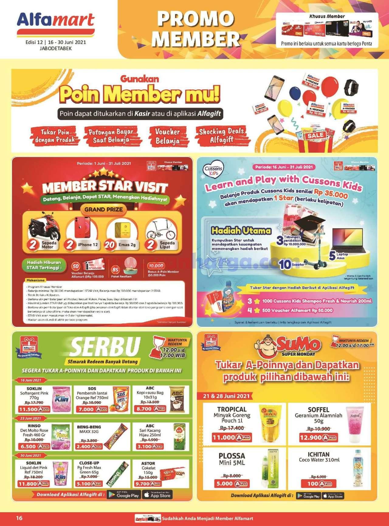 Katalog Promo Alfamart 16 - 30 Juni 2021 16