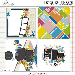 Template : Recycle #05 | Templates by Akizo Designs