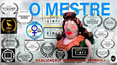 O Mestre, Uma Bela Animação de Margarida Moreira