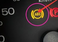 ( ABS ) warning lights in cluster instrument meter