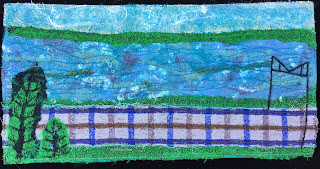 Week 8 Panel, 52 Ways to Look at the River, by Sue Reno