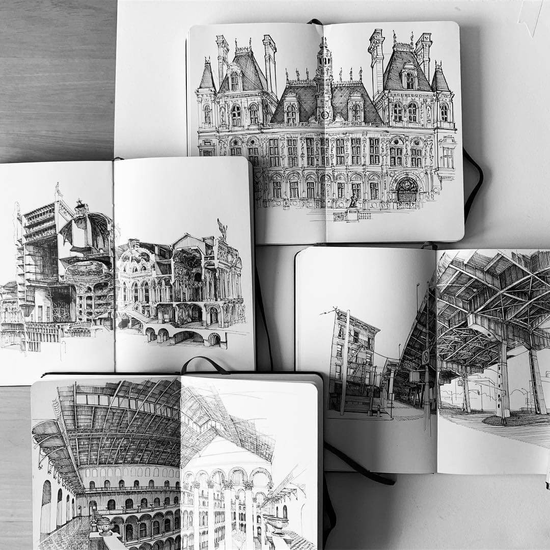 11-Upcoming-show-MISTER-VI-Architectural-Drawings-From-Around-the-World-www-designstack-co