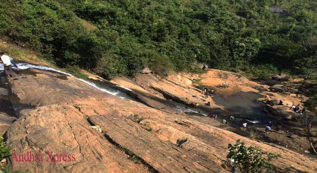 Anantagiri Hills Waterfalls