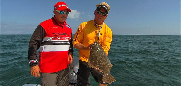 Cape Canaveral Flounder with Capt Jim Ross