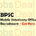 Bihar Mobile Veterinary Officer Recruitment 2017 BPSC Notification
