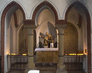 Sakrale Bilder aus der Kirche Maria Geburt in Bad Laer.