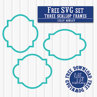 Free Scallop Frame SVG files