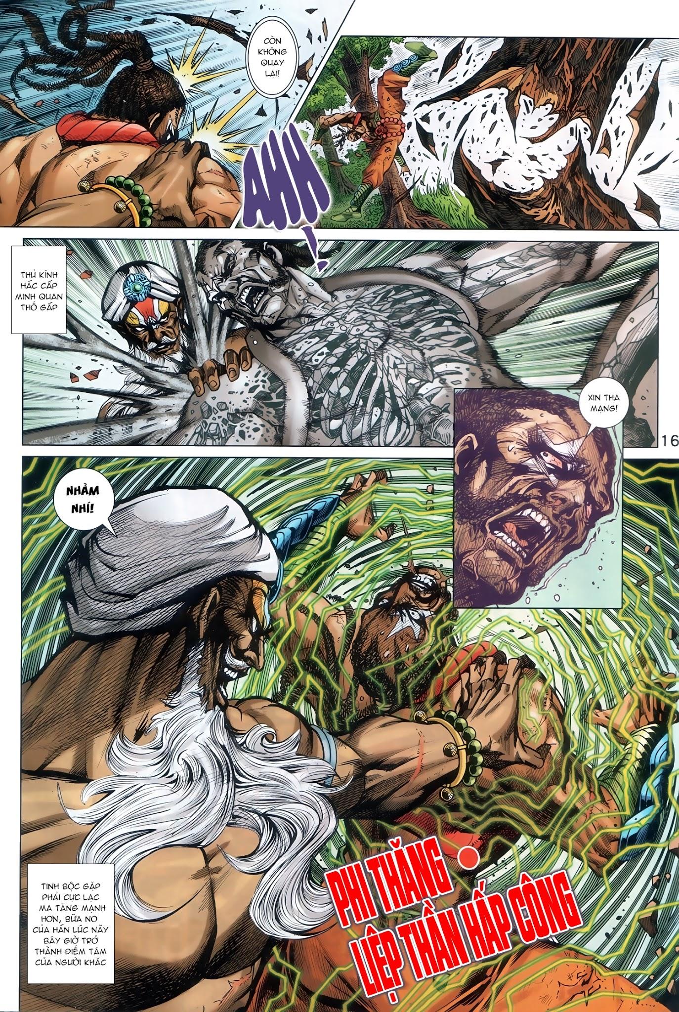 Tân Tác Long Hổ Môn Chap 888 - Trang 16