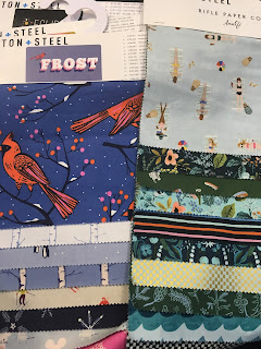 Frost and Amalfi Cotton and Steel fabric