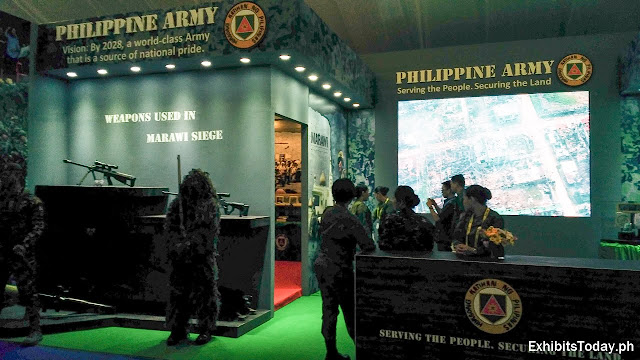 Philippine Army Exhibit Booth