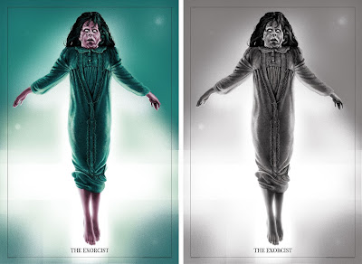 The Exorcist Screen Print by Sara Deck x Grey Matter Art