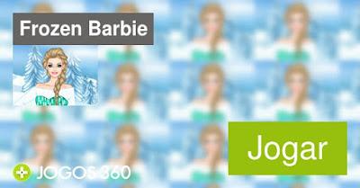 ijmagem do jogo Barbie Frozen