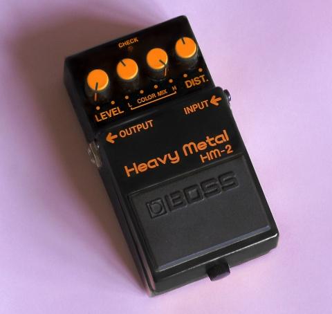 boss hm 2 heavy metal pedal planet botch. Black Bedroom Furniture Sets. Home Design Ideas