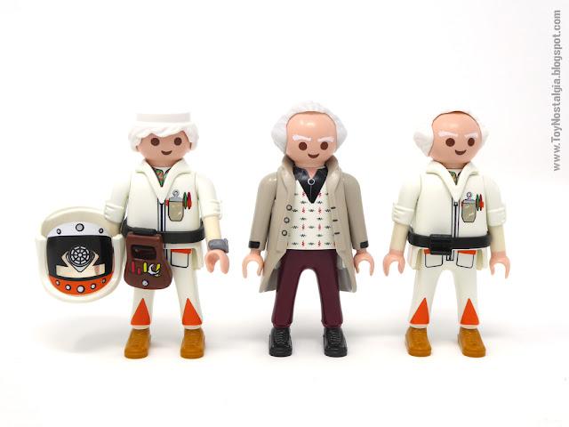 Versiones de Doctor Brown Playmobil Volver al Futuro (Playmobil Back To The Future - Calendario de Adviento)