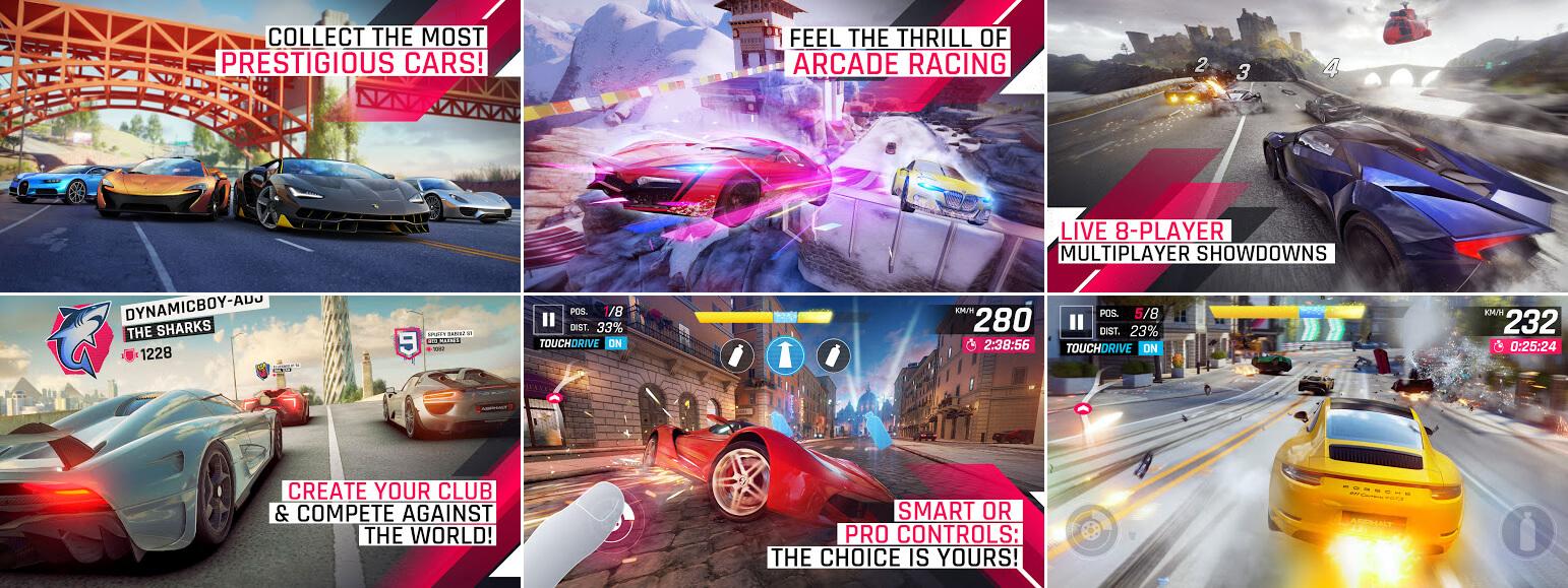 لقطات شاشة لعبة اسفلت 9 Asphalt للموبايل