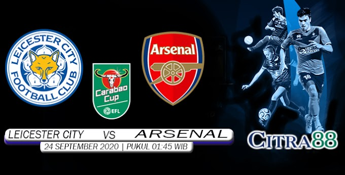 PREDIKSI LEICESTER CITY VS ARSENAL 24 SEPTEMBER 2020