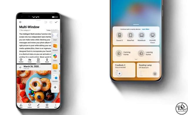 الهواتف التي ستتلقى تحديث EMUI 10.1 عالميًا