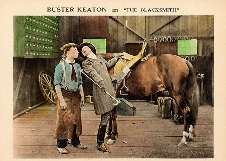 Ver Online El Herrero - Buster Keaton
