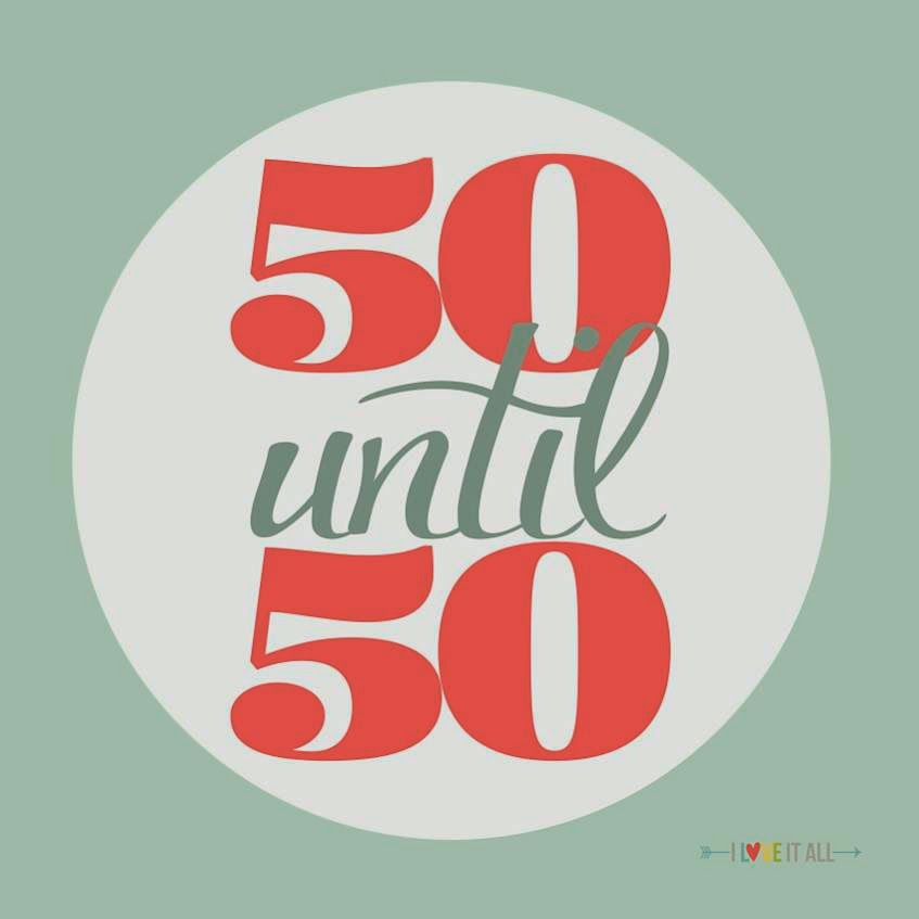 #50until50 | mini album set-up