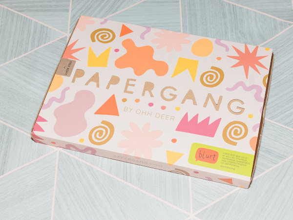 Papergang Unboxing - October 2019