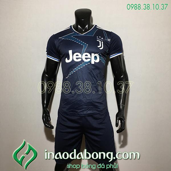 Áo Bóng Đá CLB Juventus Màu Đen 2020 Đẹp