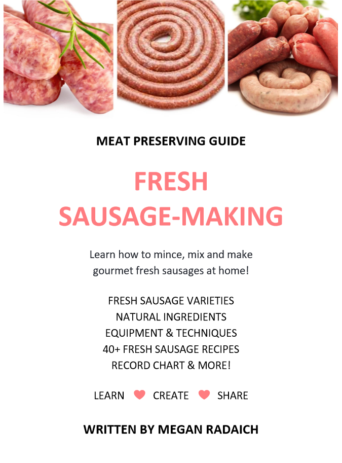Food preserving shop food preserving guides meat preserving guide fresh sausage making forumfinder Images