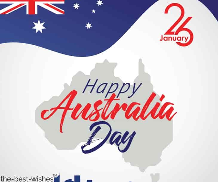 wishing you a happy australia day