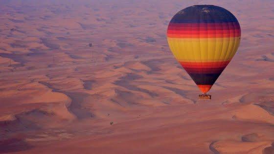 Hot-Air-Balloon-in-Dubai