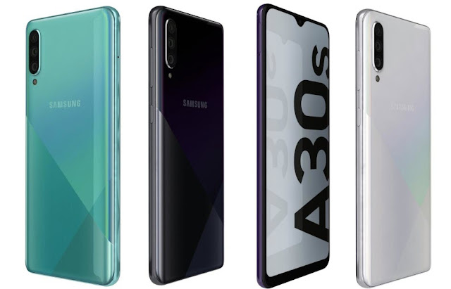 Samsung Galaxy A30s Launched IN India With 128GB Storage Variant, Price Sale And Full Specifications