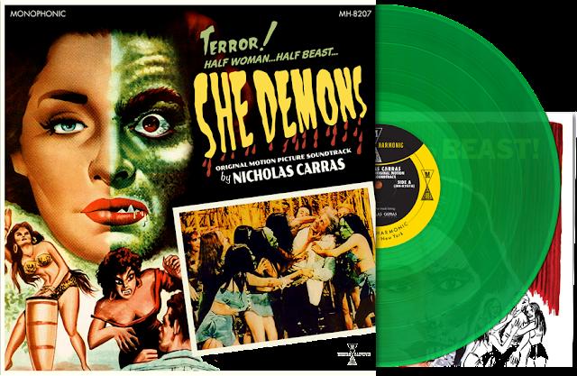 Modern Harmonic's SHE DEMONS LP!