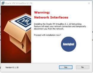 langkah langkah menginstal virtualbox