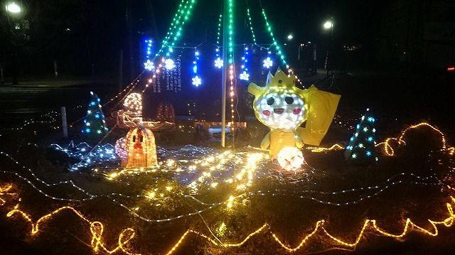 Takko Town Illuminations 2016 平成28年度 田子町イルミネーション