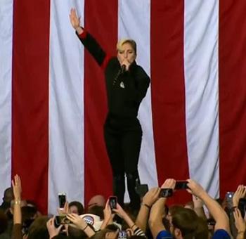 La victoria de Donald Trump Ladygaga-nazi