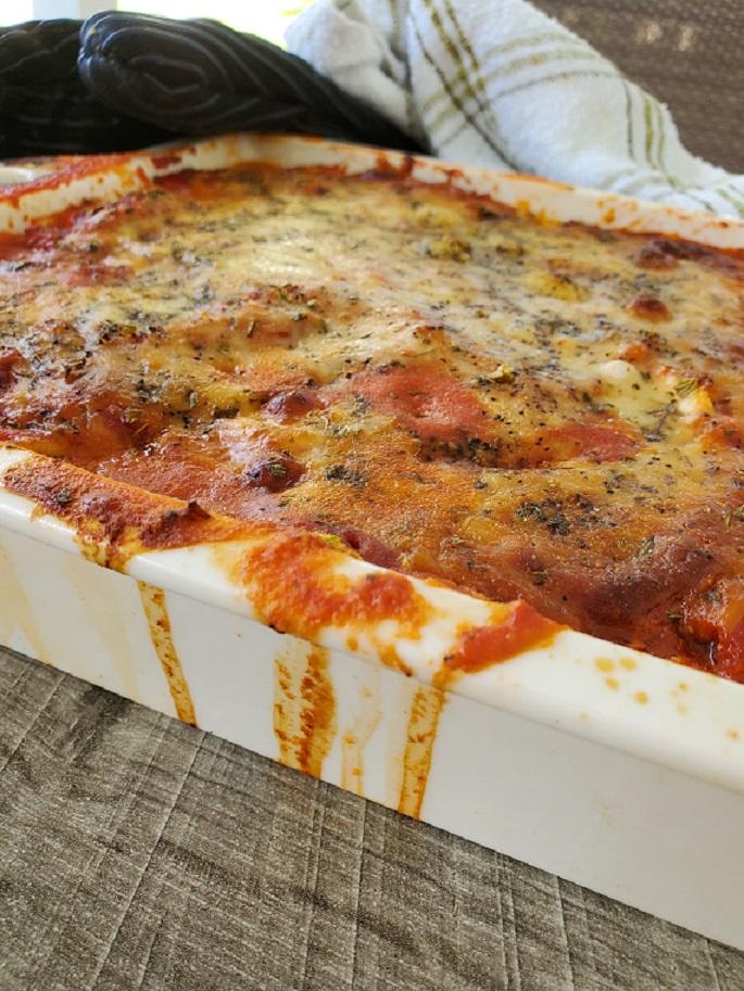 veal parmigiana casserole