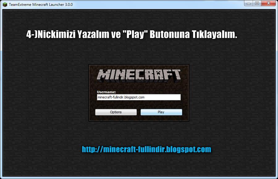 Minecraft Launcher Crack Indir