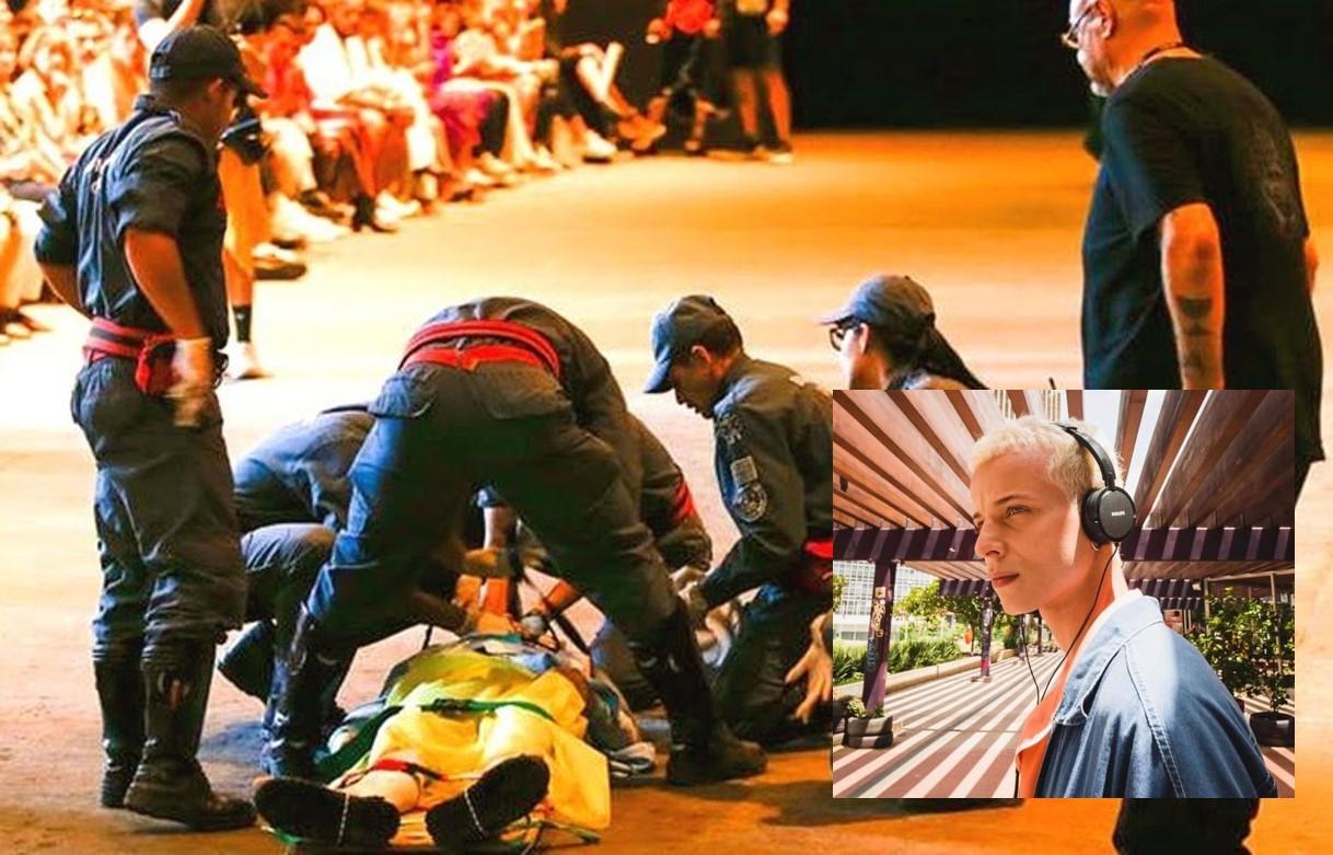 Modelo que morreu em desfile da SPFW sofria de problemas cardíacos, entenda o caso