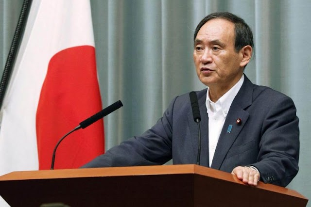 World :Yoshihide Suga Elected as Japan's New Prime Minister