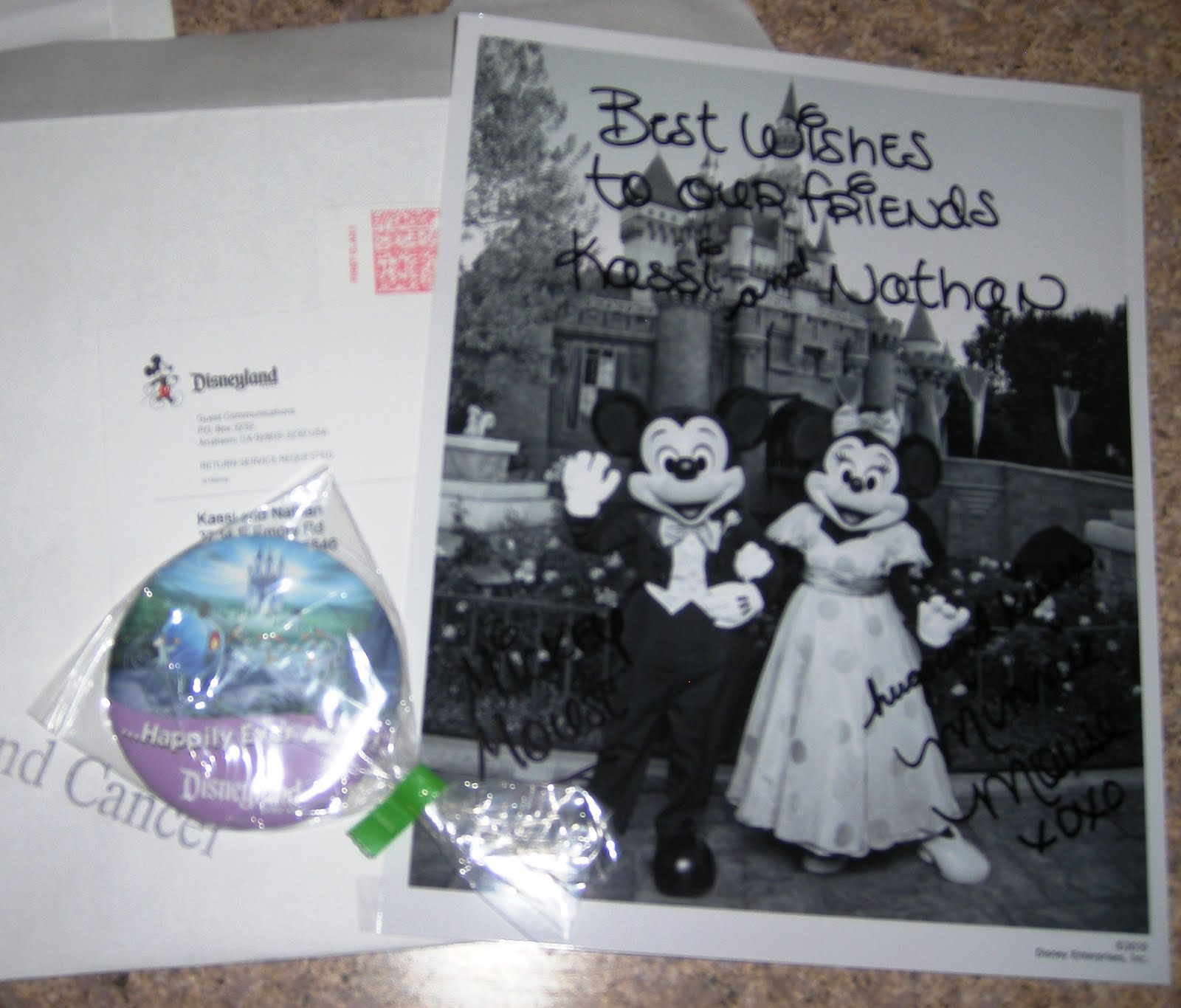 Sending Wedding Invitations Post Office: Kassi: My Road To Mrs: Well Wishes From Disney
