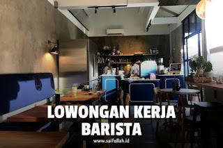 Lowongan Kerja Barista Atlas Kitchen and Coffee - Bali