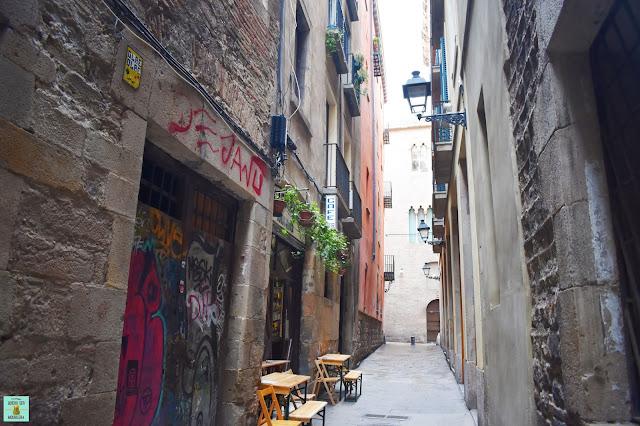 Calles del Call de Barcelona (barrio judío)
