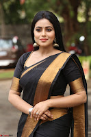 Poorna in Cute Backless Choli Saree Stunning Beauty at Avantika Movie platinum Disc Function ~  Exclusive 087.JPG