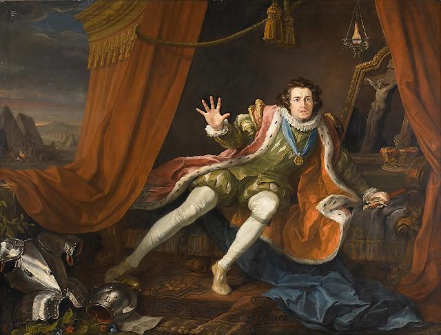 William Hogarth: David Garrick as Richard III