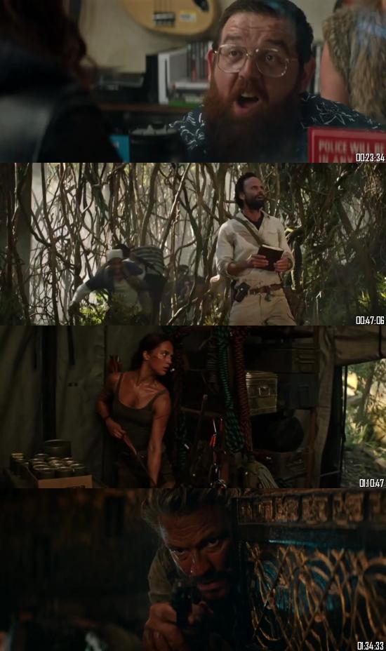 Tomb Raider 2018 WEB-DL 720p 480p Fan Dubbed Hindi English Full Movie Download