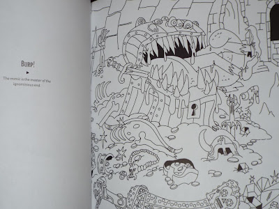 Adventures Outlined Colouring Book Mimic