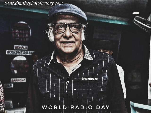 Paran Bandopadhyay Bengali Radio FM radio jockey on National Radio day August 20