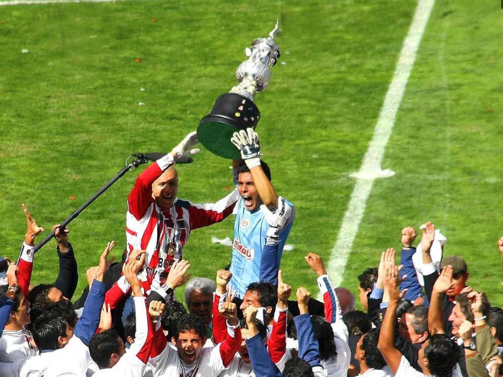 La última final que disputó el Chiverío ocurrió contra Toluca, donde se ganó con gol de Adolfo ''Bofo'' Bautista.