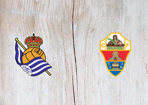 Real Sociedad vs Elche -Highlights 07 May 2021